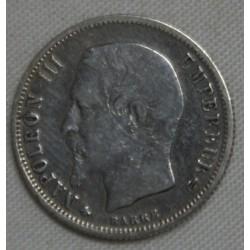 FRANCE Napoléon III, 50 centimes 1862 A, lartdesgents.fr