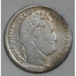Louis philippe Ier, 1 Franc 1837 W Lille, lartdesgents.fr