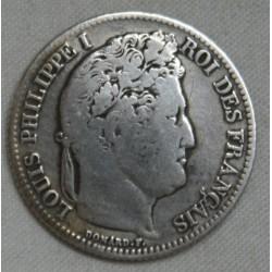 Louis Philippe Ier, 1 Franc 1834 B Rouen, lartdesgents.fr