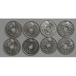 lot de 4 x 20 Centimes 1914 & 1915 cupro-nickel lartdesgents.fr