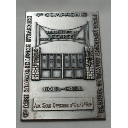 Médaille plaque Légion étrangère poste lieutenant colonel de SAIRIGNE