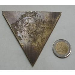 Médaille plaque triangle CAE 2° R.E.P