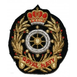 Insigne tissus brodée Royal Navy