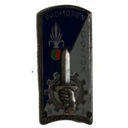 Insigne de la promotion Cazaux Régiment Etranger de Cavalerie.
