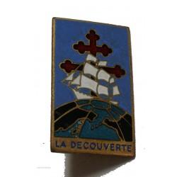 Insigne Militaire Marine A.Augis Lyon La Decouverte