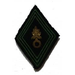 Insignes de bérets artillerie, legion + tissu légion