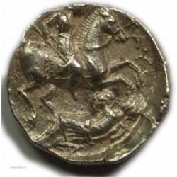 Tétradrachme PATRAOS de PEONIE - 335-315 av. J.C. SUP/TTB