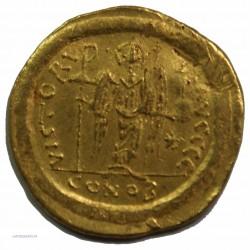 Solidus JUSTINIEN Ier, 527-565 AP.  J.C. TTB