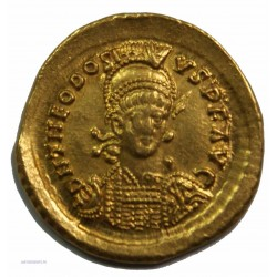 Solidus THEODOSE II 402-450 AP.  J.C. TTB