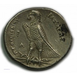 Tétradrachme PTOLEMEE Ier Alexandrie 305-283 av. J.C. TTB