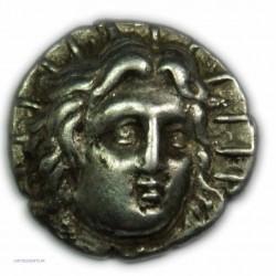 Didrachme ILES DE CARIE - RHODES, 304-275 av. J.C. TTB+/TTB