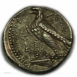 Tétradrachme DEMETRIUS II NICATOR, 130-125 av. J.C. Très Beau