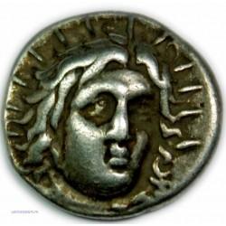 Didrachme ILES DE CARIE - RHODES, 400-333 av. J.C. Très beau à Superbe