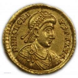 Solidus HONORIUS 393 à 423 AP.  J.C. à Ravenne SUPERBE