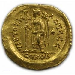 Solidus VALENTINIEN III, 419 à 455 AP.  J.C. TRES BEAU