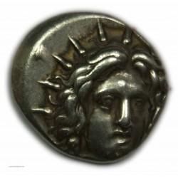 Didrachme ILES DE CARIE - RHODES, 250 av. J.C. (3) Très beau à Superbe