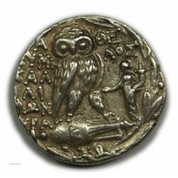 Tétradrachme Athènes Nouveau Style 165-142 av. J.C. P/Superbe - lartdesgents.fr