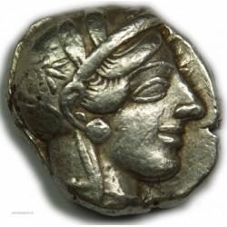 Tétradrachme Athènes (Marathon) 449 - 404 av. J.C. Très Beau