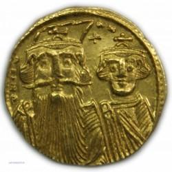 Solidus de CONSTANS II, 641-668 AP.  J.C. SUPERBE