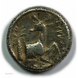 Tétradrachme EPHESE IONIE (Pyrilampes) 390-330 av.  J.C. TTB