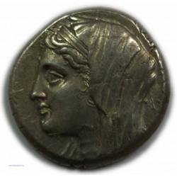 Tétradrachme SICILE SYRACUSE (Philistis), 274-216 av.  J.C. TTB