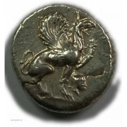 Statère IONIE -TEOS, 544-394 av.  J.C. TTB+