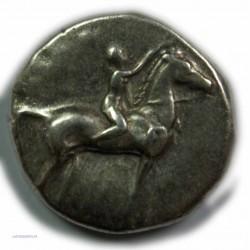 Didrachme/Statère CALABRE - TARENTE, 302-281 av.  J.C. TTB