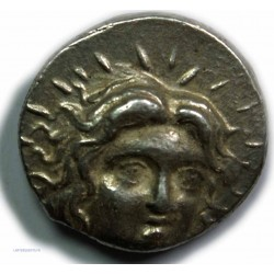 Tétradrachme de Rhodes,  229-205 av.  J.C. TTB/SUP, lartdesgents.fr