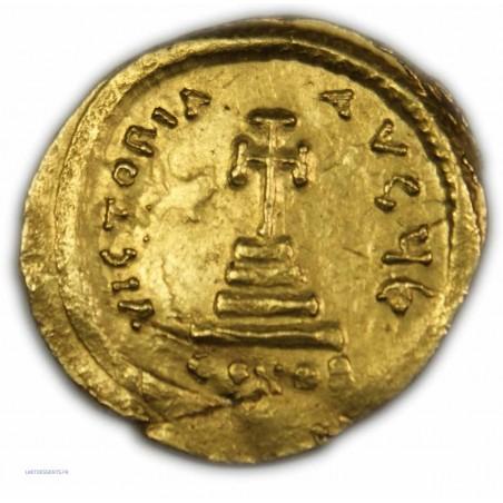 Solidus de HERACLIUS & HERACLIUS CONSTANTIN, 613-630 AP.  J.C.