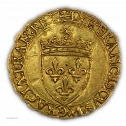 Ecu d'or au soleil FRANCOIS Ier (Bayonne), 21/07/1519 - SUPERBE, lartdesgents.fr