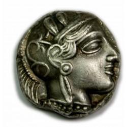 Tétradrachme Etalon ATTIQUE - Athènes 490 - 407 av. J.C. Superbe, lartdesgents.fr