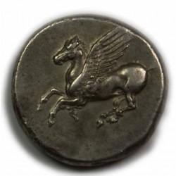 Statère/didrachme Corinthe 345-307 av. J.C. Superbe