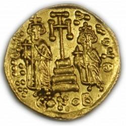 Solidus de CONSTANT IV, 668-685 AP.  J.C. TTB