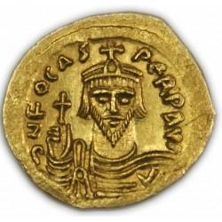 Byzantine - Solidus de FOCAS, 602-610 AP.  J.C. Très Beau