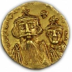 Solidus de Constans II, 641-668 AP.  J.C. TTB