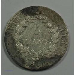 EMPIRE - Napoléon Empereur 5 Francs 1811 A Paris, TB