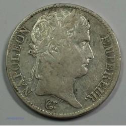 EMPIRE - Napoléon Empereur 5 Francs 1812 A Paris, TTB