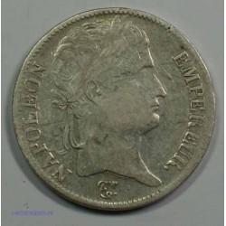 EMPIRE - Napoléon Empereur 5 Francs 1813 K Bordeaux, TB+, lartdesgents.fr