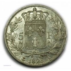 CHARLES X 5 Francs 1826 A Paris,TTB+, lartdesgents.fr