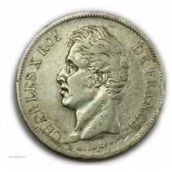 CHARLES X 5 Francs 1828 L Bayonne,TB+, lartdesgents.fr
