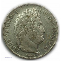 ECU 5 Francs LOUIS PHILIPPE Ier, 1833 W LILLE, TTB
