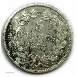 ECU 5 Francs LOUIS PHILIPPE Ier, 1834 A, TTB