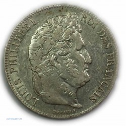 ECU 5 Francs LOUIS PHILIPPE Ier, 1836 B Rouen, TTB