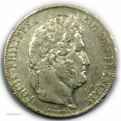 ECU 5 Francs LOUIS PHILIPPE Ier, 1838 BB Strasbourg, TTB