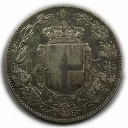 ITALIE- UMBERTO I - 5 LIRE 1879,(1) lartdesgents.fr