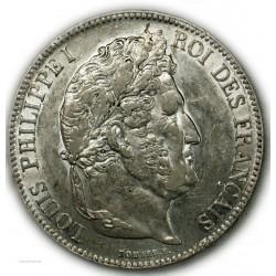 ECU 5 Francs LOUIS PHILIPPE Ier, 1838 B ROUEN, SUP
