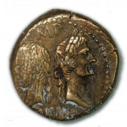 DUPONDIUS / AS de Nîmes Type 3 (10 av. J.C.) TTB+