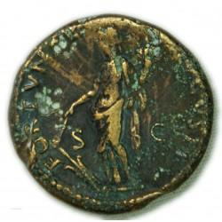 AS de DOMITIEN 90 ap. J.C. TTB+/TTB RIC.705