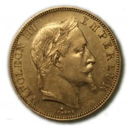50 Francs NAPOLÉON III 1864 A PARIS, TTB, lartdesgents.fr