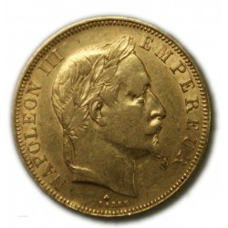 50 Francs NAPOLÉON III 1865 A PARIS, TTB, lartdesgents.fr